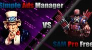 Simple Ads Manager vs SAM Pro (Free Edition)